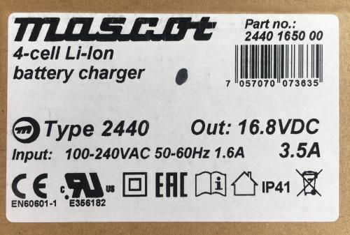 MASCOT 2440 Label